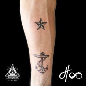 Jacob Hoo Sailor Tattoo