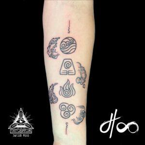 Jacob Hoo Avatar Tattoo